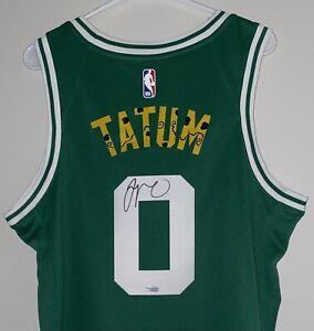 Jayson Tatum Signed Boston Celtics ART Autographed Nike Swingman Jersey FANATICS