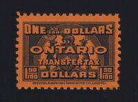 Canada VD #OST27 (1935) $1.50 Blue ONTARIO LAW Stamp Revenue Mint VF