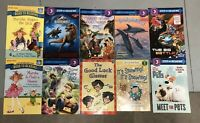 Lot of 10 Level 3 Ready to-I Can Read-Step into Reading-Learn Read Books MIX