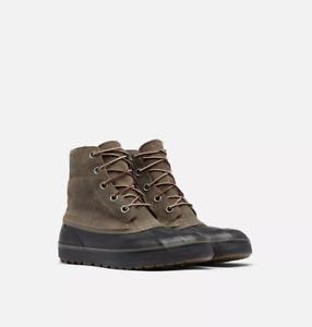Sorel Men Waterproof Lace Up Boots Cheyanne Metro Size US 7M Major Suede