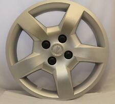 Pontiac G5 Center Hub Cap Wheel Cover C/N 9596539 2009-2010 Silver Metallic OEM