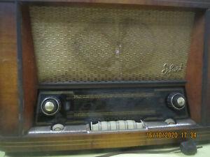 Röhrenradio Erfurt 3D Super DDR VEB RFT-Sonneberg Ostalgie 1957 Rar