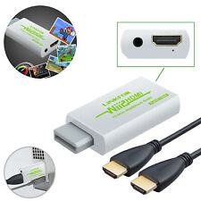 Wii to HDMI 3.5mm Audio Converter Adapter720P/1080P Quality Nintendo Wii HDMI