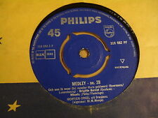 45T SINGLE PHILIPS / MORTIER-ORGEL UIT BRESKENS - MEDLEY N° 28