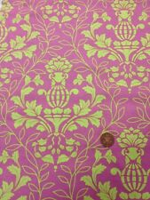 100% Acolchado de Algodón Manualidades Telas Benartex Rosa Amarillo Floral