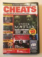 Playable Cheats Disc - Socom, Matrix & More (PS2 Game) *GOOD CONDITION*