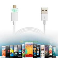 2.1A Magnetic Micro USB Plug Charger Adapter Cable Cord for Android Samsung LG