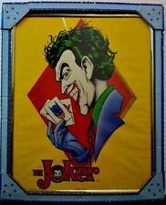 Joker Prince of Crime Framed Lithograph Print w Original Box 1989 Rare Canadian