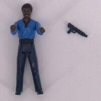 Vintage 1980 Kenner Star Wars Figures Complete Rare ESB Lando Calrissian Gun