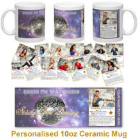 Strictly Come Dancing personalised 10oz ceramic mug Strictly gift Birthday