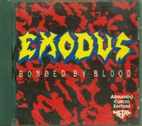 Exodus - Bonded By Blood Italy Press 1992 Cd Perfetto