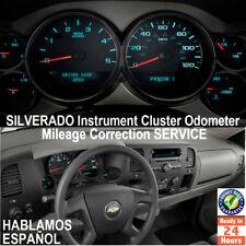 SILVERADO 99-2011 Instrument Cluster Mileage Correction/Programming Service