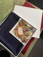 "Auth. Gucci Silk Scarf Wht/Nvy/multicolor, Magical Mushroom Italy 34 1/2 ""  V. A"