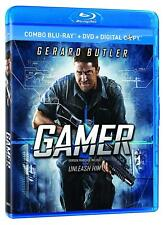 GAMER- BLU RAY Movie- Brand New & Sealed- Fast Ship! (VG-A58087BRD / VG-380)