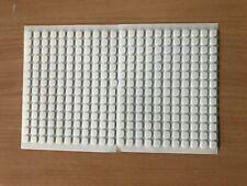 3 D Klebepads Klebekissen 308 Stück weiss ca 6x6x2 mm für Scrapbooking neu