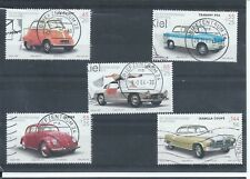 Germany stamps 2002 Cars set used. CV £16  (A954)