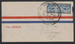 USA 1926 first flight Cover : Fort Myers FLA - New York (1st April 1926)