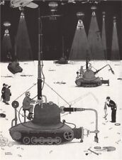 HEATH ROBINSON. Blowing out Parachute Flares. Second World War 1973 old print