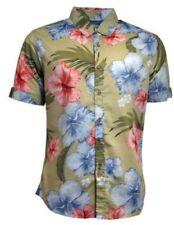 Camisas y polos de hombre en color principal beige de 100% algodón