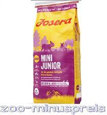 JOSERA MINI Junior 4 kg, für Juniorhunde kleiner Hunderassen, ab der 3.Woche