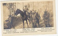 colonie italiane guerra italo turca pattuglia in perlustrazione