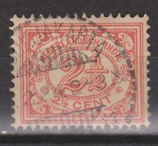 Nederlands Indie Netherlands Indies 104 TOP CANCEL DJOKJAKARTA Cijfer 1912