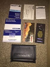 02 Subaru Impreza & Outback Sport Factory Owners Manual w/ Case OEM