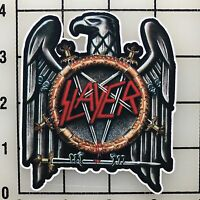 "Slayer 4"" Tall Multi-Color Vinyl Decal Sticker - BOGO"