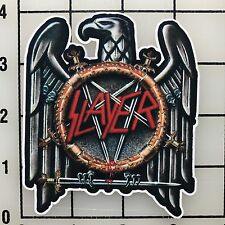 "Slayer 4"" Tall Multi-Color Vinyl Decal Sticker - BOGO"