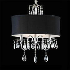 Cristal Moderne Avec Noire l'ombre Pendentif Light  Lustres