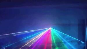 **Willi Pro UK Disco RGB Laser** Full Colour Light lighting system mobile DJ