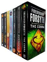 Frederick Forsyth 7 Books Collection Set The Cobra, Avenger,Day of the Jackal