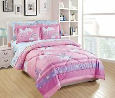 Smart Linen Kids/Teens/Girls Comforter Bedding Set/Bed in A Bag with Sheets Unic