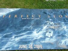 Movie banner The Perfect Storm 2000 George Clooney Ocean Fishing Tragedy 10' Art