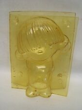 "Vintage Plastic ""Cupie Doll"" Chocolate Mold 7 1/4"" tall Traveler's USA AUC"