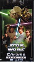 Star Wars Chrome Perspectives Jedi VS Sith Hobby Trading Card Box MINT
