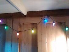 20 Colorate Retrò Vintage Stile Festoon fairy party colorato Fancy LUCI LED