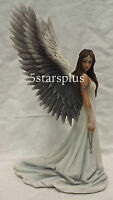 Spirit Guide Gothic Angel by Anne Stokes Mythical Magic Winged Statue Sculpture