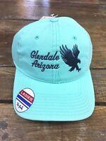 NWT LADIES Glendale Arizona Apollo Hawks Cap Hat Strapback The Game Mint Green