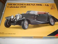 1935 Pocher Mercedes Benz 500 K-AK Cabriolet 1/8 Scale, SEALED NEW