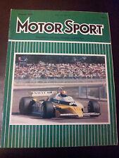 MOTOR SPORT AGOSTO 1979 FRANCIA GRAND PRIX-Jean-Pierre, Renault RS11