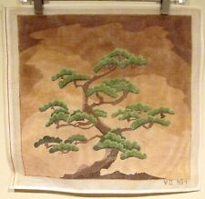 Japanese BONSAI TREE Painted Needlepoint Canvas