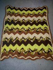 Hand Crochet Lap Blanket.Just Made!