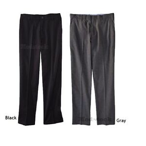 74L3 Choice Mens Merona Tailored Fit Gray or Ultimate Black Dress Chino Pants