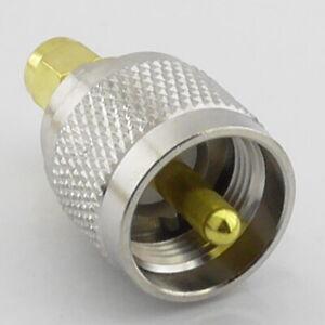SMA Male Plug to PL259 UHF Male Plug RF Adaptor Interseries Between Series