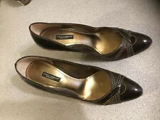 Dolce & Gabbana Shoes Women's  Heels Brown Size 39