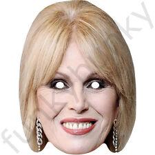Joanna Lumley Celebrità Maschera di carta-tutte le nostre Maschere sono pre-tagliati!