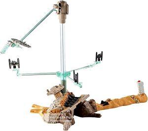 Hot Wheels Star Wars ESCAPE FROM JAKKU Play Set Diecast Ships Mattel 06962 R