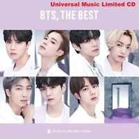 Pre-Order BTS, THE BEST Universal Music Limited CD +2 Random Clear Photocards