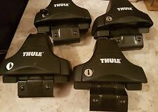 Thule Rapid System 754 Footpack Complete with feet, locks and key